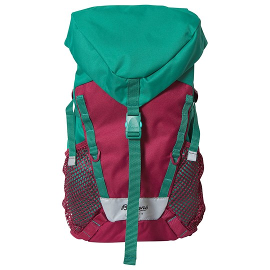 Bergans Lilletind Rolltop 18 Backpack Beet Red and Greenlake BeetRed/Raspberry
