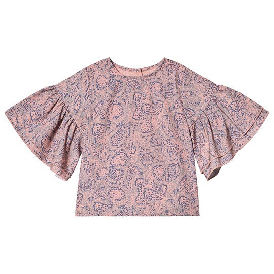 How To Kiss A Frog Jazy Blouse Pink Snake PINK SNAKE