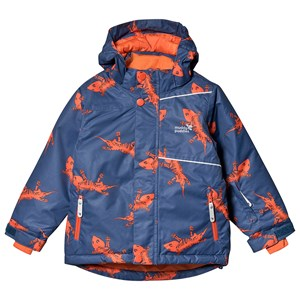Image of Muddy Puddles Blizzard Jakke Navy Lizard 9-10 years (1482794)