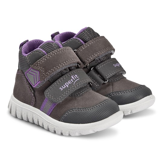 Superfit Sport7 Mini Sneakers Grå/Lila Grey/Lila