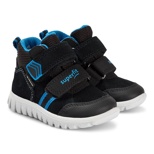 Superfit Sport7 Mini Sneakers Svart/Blå Black/blue