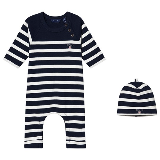GANT One-Piece and Beanie Set Evening Blue 433