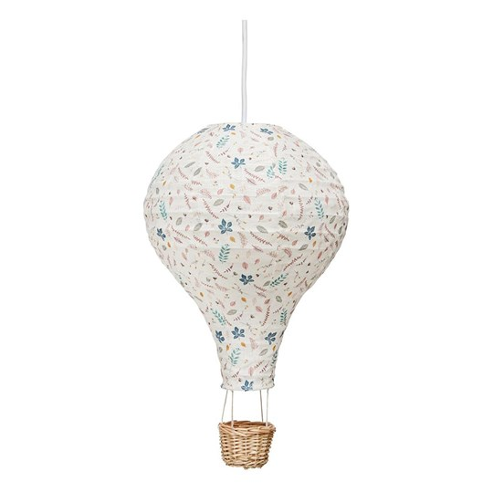 Cam Cam Hot Air Balloon Lampa Pressed Leaves Rose Pink