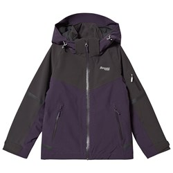Bergans Oppdal Insulated Youth Girl Jacket  Velvet Skidjacka PurpleVelv