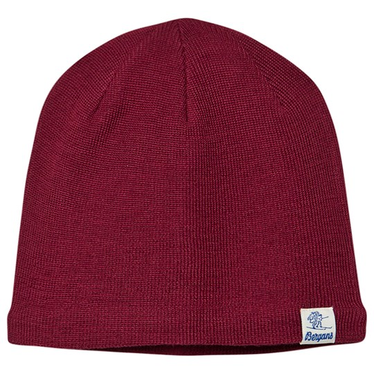 Bergans Kids Beanie Beet Red BeetRed
