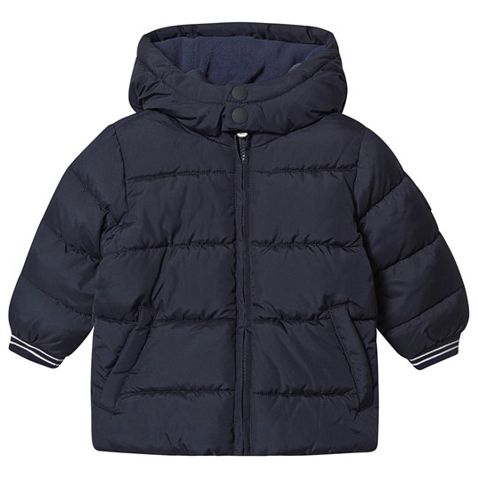 GAP Navy Puffer Coat Tapestry Navy