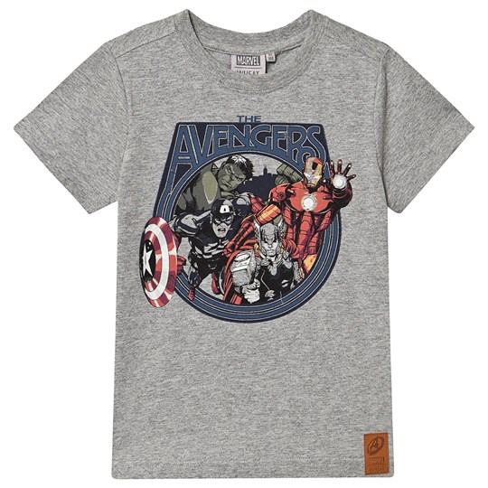 Wheat T-Shirt Marvel Melange Grey Melange Grey