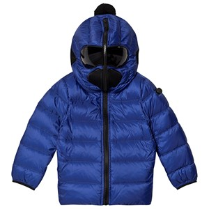 Bilde av Ai Riders On The Storm Blue Padded Goggle Hood Coat 12 Years