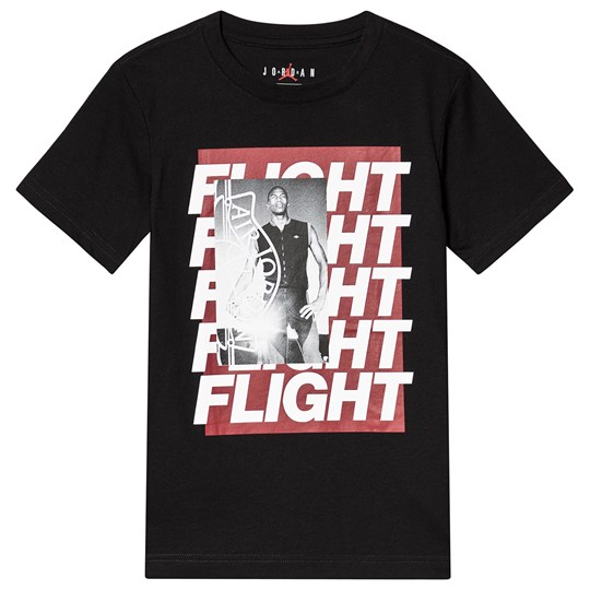 Air Jordan Rivals Logo T-Shirt Black 023