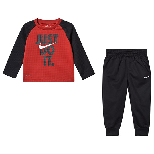 NIKE Just Do It Tracksuit Black 023