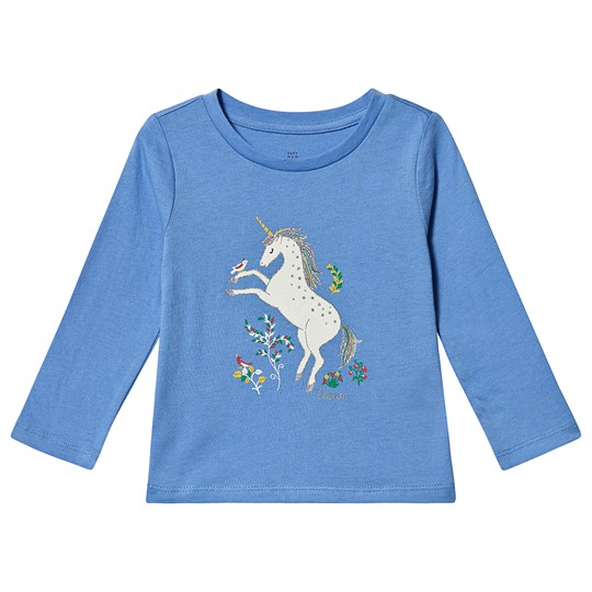 GAP Graphic Long Sleeve Tee Unicorn UNICORNS 647