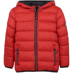 Mayoral Hooded Puffer Jacket Red