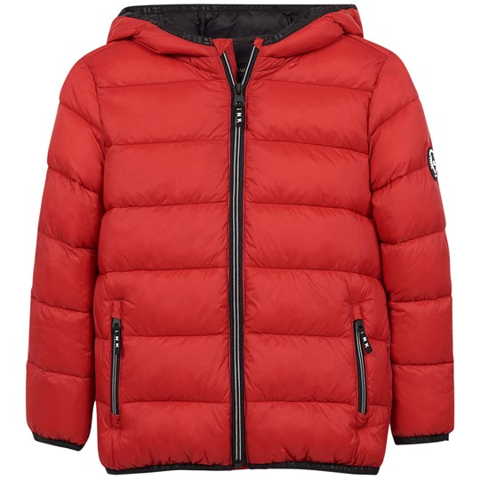 Mayoral Hooded Puffer Jacket Red 79