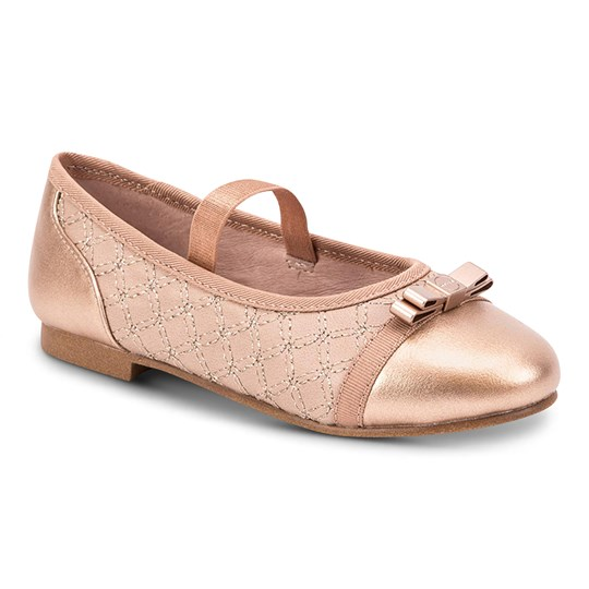 Mayoral Elasticated Strap Ballerina Shoes Pink 21