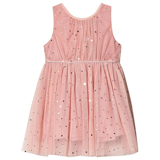 Jocko Formal Dress with Silver Dots Pink Pink