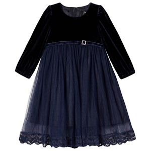 Image of Jocko Baby Velvet Dress Navy 86 cm (1-1,5 år) (1421301)