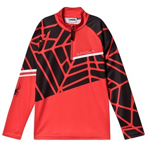 Image of Spyder Limitless Hideout Baselayer Top Rød L (14-16 years) (1601212)