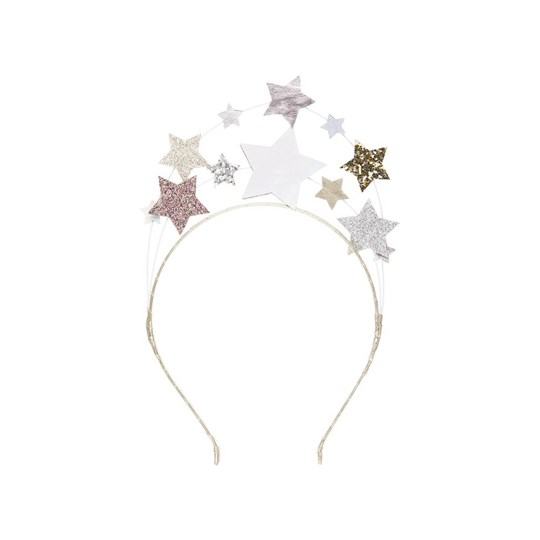 Mimi & Lula Metallic Constellation Headband Silver 08