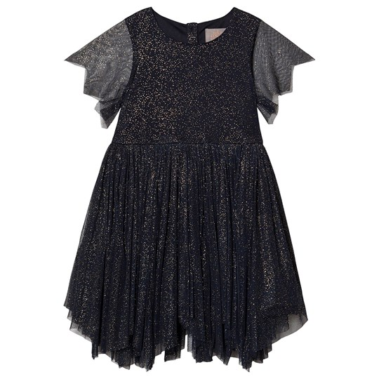 Creamie Gold Dot Dress Total Eclipse Total Eclipse
