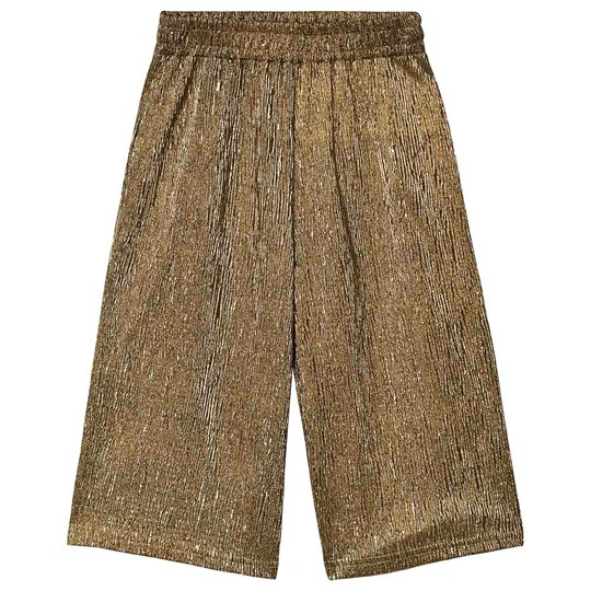 Creamie Culotte Pants Gold Gold