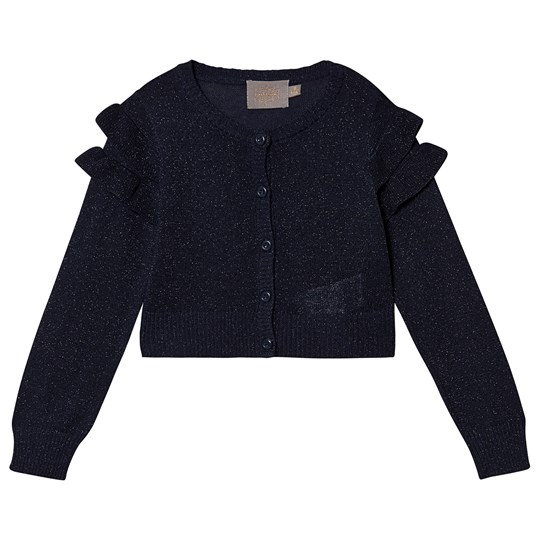 Creamie Glitter Short Cardigan Total Eclipse Total Eclipse