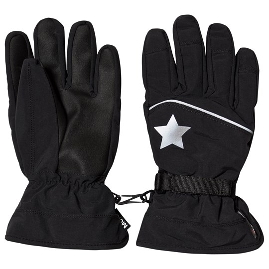 Molo Mack Active Gloves Very Black Very Black