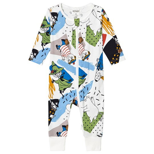 Moomin Ståhej One-Piece White Blue