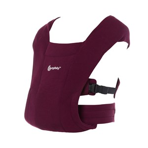 Image of Ergobaby Embrace Carrier Burgundy One Size (1488197)