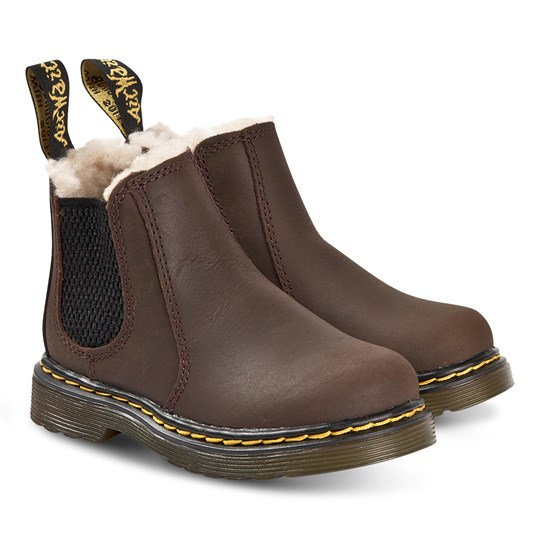 Dr. Martens 2976 Republic Chelsea Boots Dark Brown 201