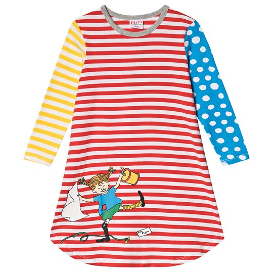 Pippi Långstrump Joy Nightgown Multi Red