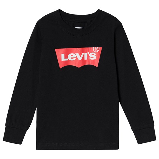 Levis Kids Batwing Long Sleeve Tee Black 023