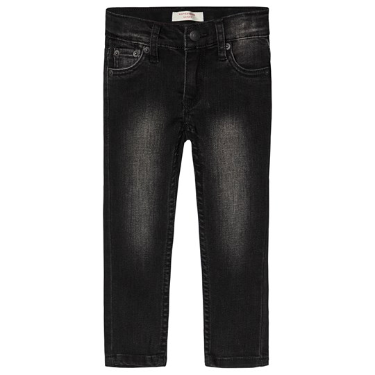 Levis Kids 519 Extreme Skinny Jeans Black Ice D6D