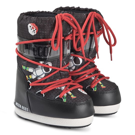 Moon Boot Moon Boots Space Man BLACK/ANTHRACITE