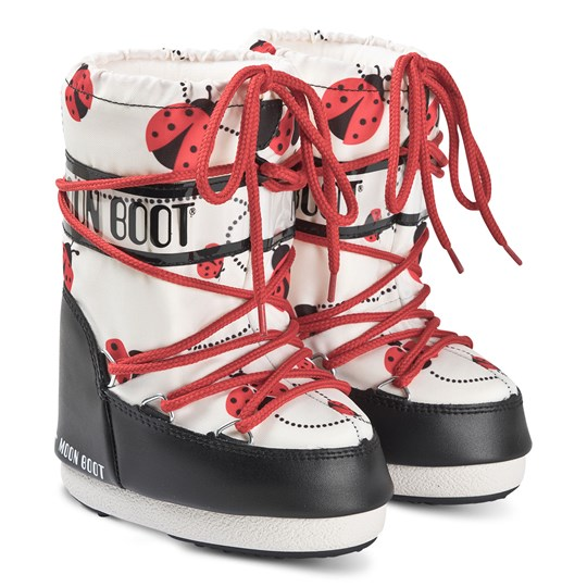 Moon Boot Moon Boots Ladybug BLACK/WHITE/RED