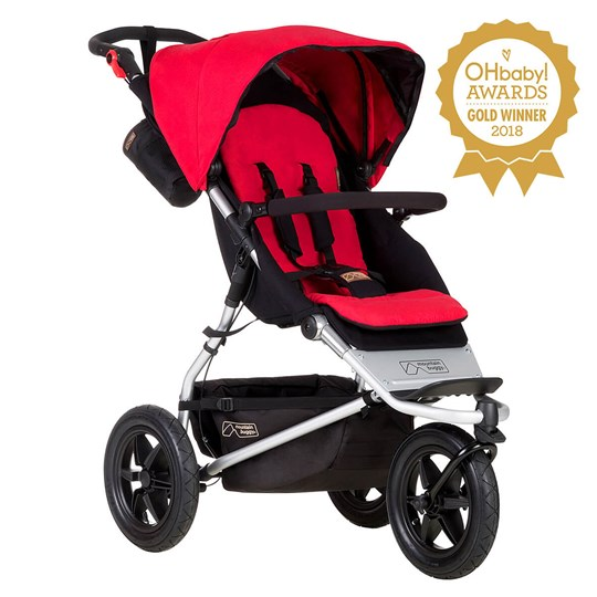 Mountain Buggy Urban Jungle Berry Rød
