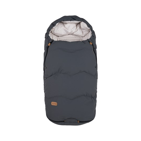 Voksi Voksi® Explorer Footmuff Grey Star Black