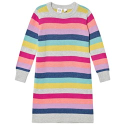 GAP Knitted Dress Crazy Stripe