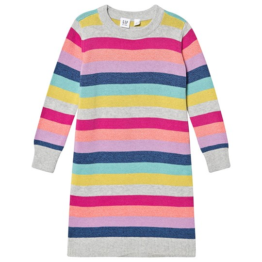 GAP Knitted Dress Crazy Stripe Crazy Stripe