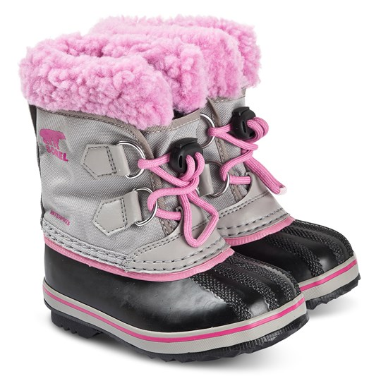 Sorel Children's Yoot Pac™ Snow Boots Chrome/Grey Orchid Chrome Grey Orchid