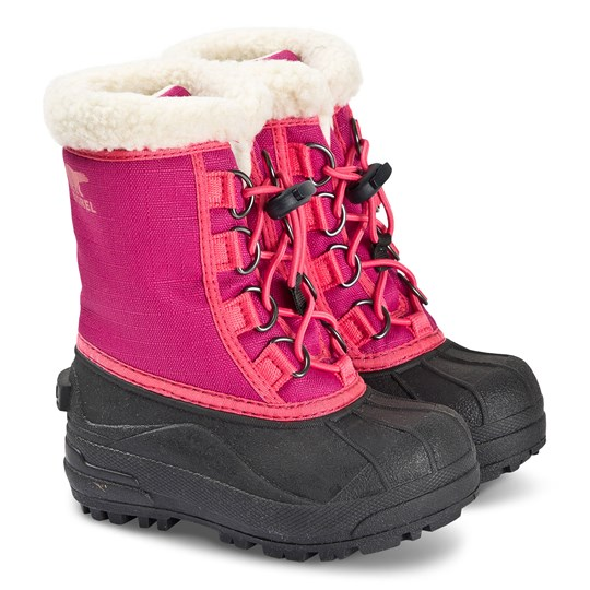 Sorel Children's Cumberland™ Snow Boots Deep Blush Deep Blush