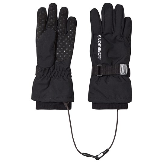 Didriksons Biggles Gloves Black Black
