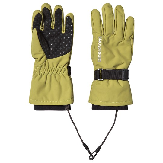 Didriksons Biggles Gloves Seagrass Green Seagrass Green
