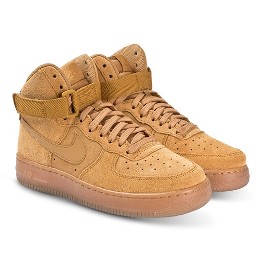 NIKE Nike Air Force 1 High LV8 Hi Tops Sneakers Brun 700