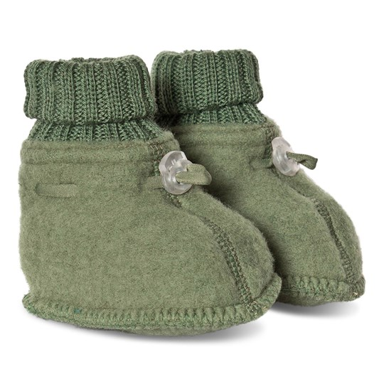 Joha Sleeping Booties Olive Green Olivegreen