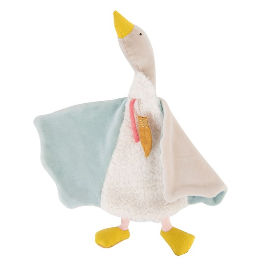 Moulin Roty Olga The Goose Comforter Cream