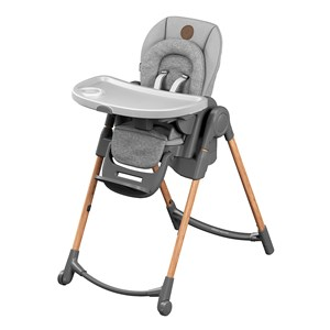 Image of Maxi-Cosi Minla Høj Stol Essential Grey One Size (1480734)