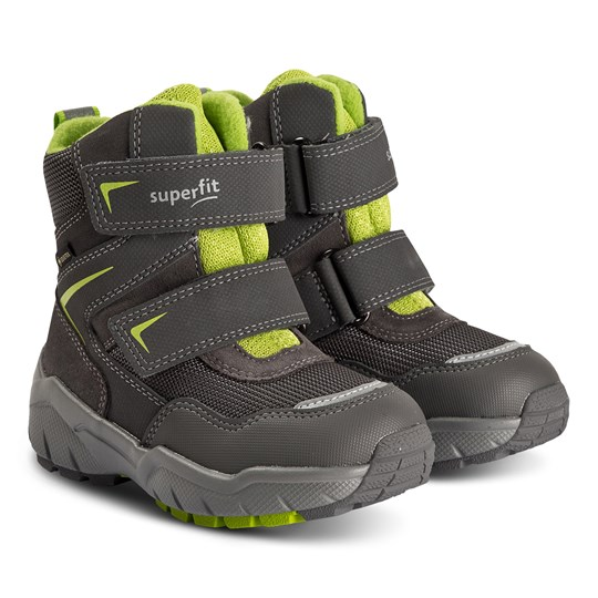 Superfit Culusuk Snow Boots 2.0 Grey/Green Estate Grey/Green