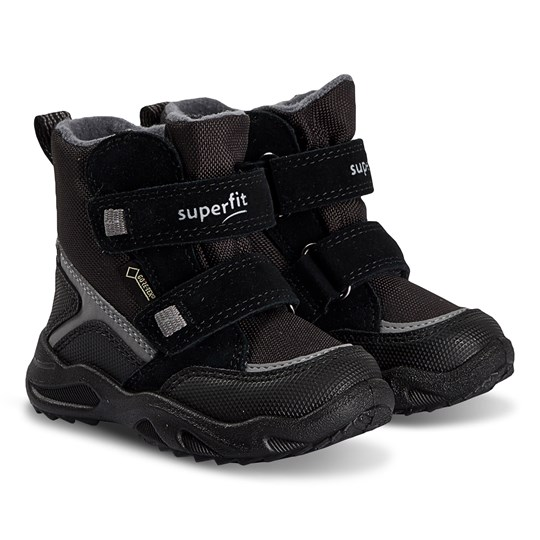 Superfit Glacier Snow Boots Black/Grey Estate Multi