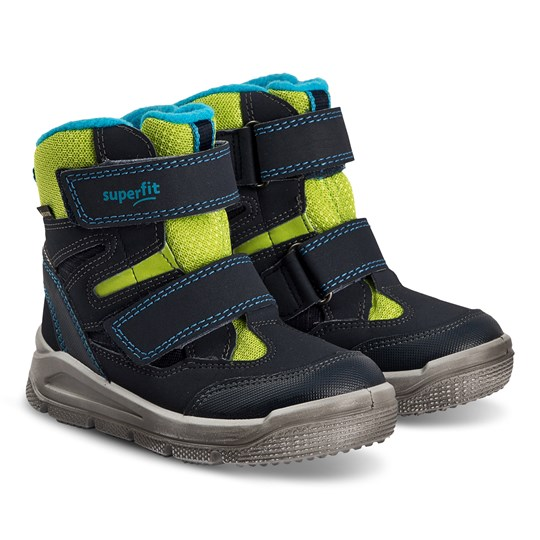 Superfit Mars Snow Boots Blue/Green Estate Blue/Green