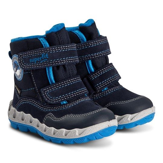 Superfit Icebird Snø Støvler Dark Grey/Blue Estate BLUE/BLUE